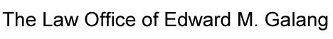 Edward Galang Law Logo